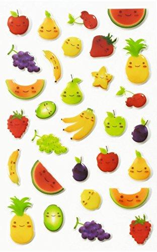 maildor-31-tlg-sticker-set-cooky-niedliche-fruchte