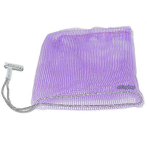 Seifennetz lila -Seifenbeutel aus einem Kunststoffnetz - Made in Germany