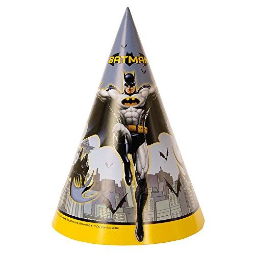 Kunststoff Batman Goodie Staubbeutel (Kunst Birthday Party Supplies)
