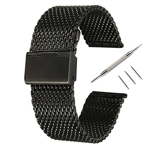 24mm-cinturino-pinhen-acciaio-inossidabile-bracciale-watch-band-strap-estremita-diritta-solidi-legam