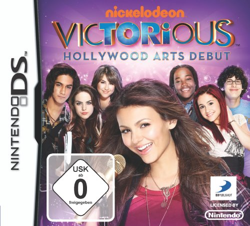 Victorious - Hollywood Arts Debut (Nintendo Ds Nickelodeon Games)