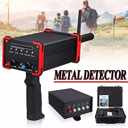 Alto Exactitud Metal Detector Ajustable Piedra Preciosa Descubridor Locador con LED Monitor y Impermeable...