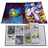 Pokemon Cards Album, Pikachu Collection Handbook, Pokemon Binder for Cards Book Best Protection
