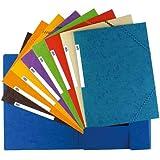 Elba 100200901 - Carpeta de goma, con 3 solapas, A4, 1 unidad, colores surtidos