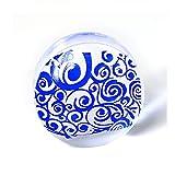 Frcolor 2er Set transparent Stamper Silikon DIY Nagel Nailart Stamping Maniküre Hilfsmittel 'Maske'