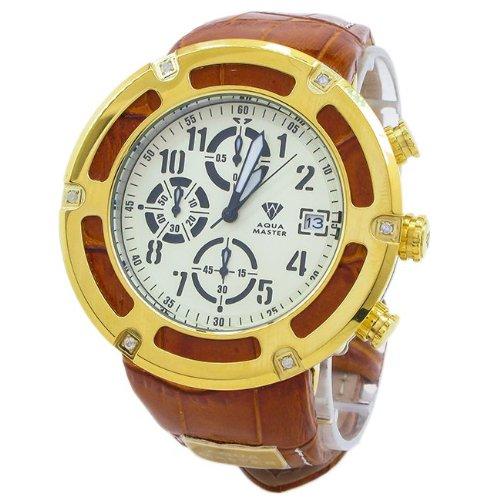 Aqua Master reloj de diamantes para hombre aqmw2