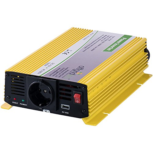Offgridtec® HF12-1200 1200W 2400W 12V 230V Spannungswandler modifizierter Sinus