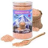 Nortembio Sal Rosa del Himalaya 1,4 Kg. Fina (1-2 mm). 100% Naturales. Sin Refinar. Sin Conservantes. Extraídas a Mano