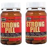 2 boîte de 60 comprimés pilule fort, fort stimulant avec: taurine, Guarana, Camellia Sinensis, Caféine, Inositol...