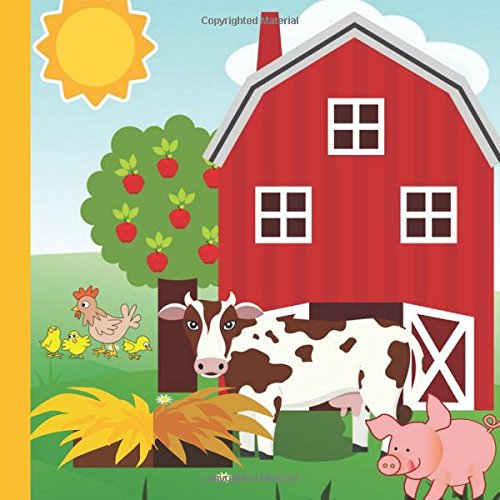 Hay Farm Party Guest Book: Plus Printable Farm Birthday Invitations,Thank You Cards & Gift Tracker Plus Picture Pages for a Lasting Memory Keepsake (Farm Party Supplies,Farm Animal Party Decor) (Barn Party Animal Supplies)