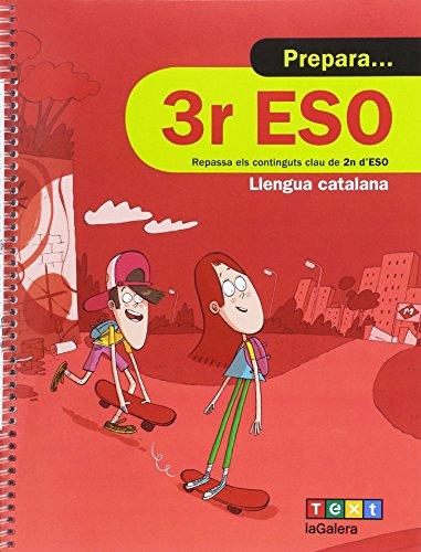Prepara 3r ESO Llengua catalana (Quaderns estiu) - 9788441230378