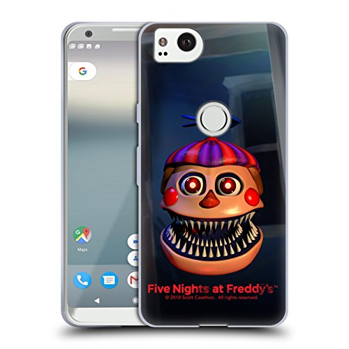 Official Five Nights At Freddy's Nightmare Balloon Boy Game 4 Soft Gel Case for Google Pixel 2