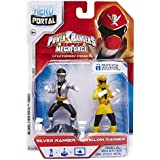 Héroe Portal Power Rangers Booster Pack (Plata / Amarillo)
