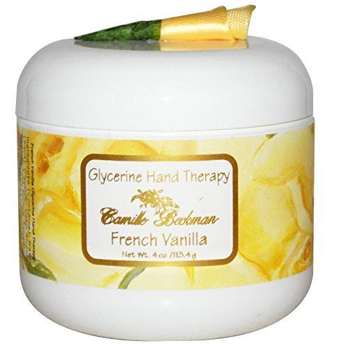 Camille Beckman Glycerin (Camille Beckman Glycerine Hand Therapy Cream 4 oz - French Vanilla Scent by Camille Beckman)