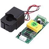 PZEM-004T Pantalla LCD Digital de Corriente de Tensión de Energía Multímetro AC 80-260V 100A con Transformador de Corriente de Núcleo Dividido