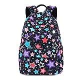 Zhrui Rucksack Casual Schultasche Mädchen Rucksack für Schulkinder Rucksack Mann (Farbe : Mehrfarbig)
