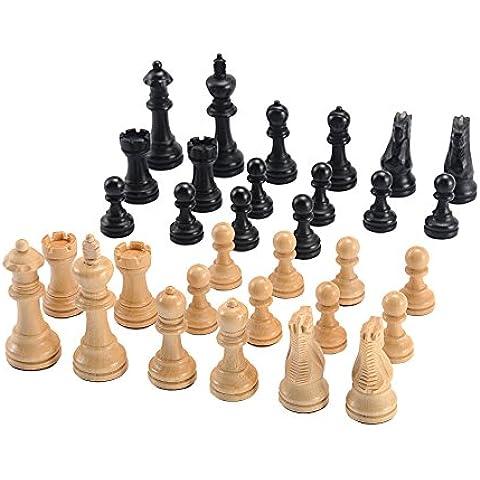 3.5 juego de ajedrez Staunton ponderado