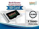 #4: Silver Bank Exam Training Program (IBPS PO, Clerk & RRB). 1038 Videos & 169 Ebooks on SD Card.