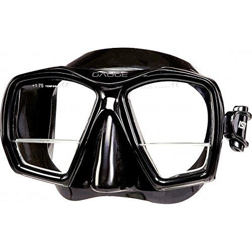 Ist Gauge Maske mit Lesebereich (schwarz)