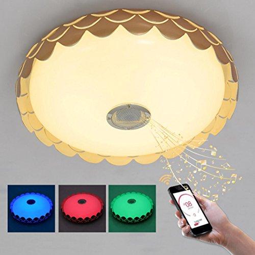 Bluetooth Musik Musik energiesparende LED Deckenleuchten 36W für Heim Indoor Deckenleuchte , B (Batteriebetriebenes Stroboskop Licht)