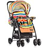 Luvlap Joy Baby Stroller (Orange)