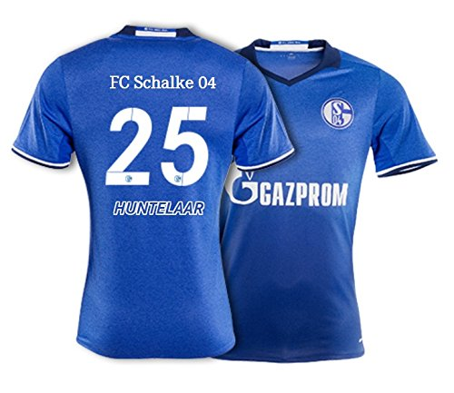 Trikot Adidas FC Schalke 04 / 2016-2017 Home (Huntelaar 25, 164)