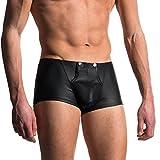 Beikoard Sexy Dessous, Männer Sexy Boxer Slip Shorts weiche Unterwäsche Ausbuchtung Pouch Unterhosen Katze Wird Männer Unterwäsche Handel (M, Schwarz-E)
