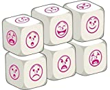 Talking Dice Add-ons: Emotions (pack of 6 dice)