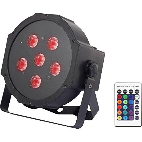 Renkforce Powerpar LED-PAR-Scheinwerfer EEK: LED (A++ - E) Anzahl LEDs: 6 x 8 W Schwarz