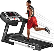 PowerMax Fitness® TDA-100 Series (2.0HP) Motorized Foldable, Electric Treadmill (FREE INSTALLATION)【LED Displa