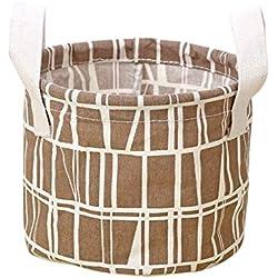 Leisial Lindo Bolso Caja de Almacenamiento Ropa Interior Portátil Cosméticos Juguetes Caso Organizador de Maquillaje Cajón del Armario Plegable (#3)