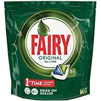 3 Pack Fairy Original All-in-One Dishwasher Tablets (252 Tablets)