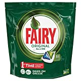 Best Dishwasher Detergents - Fairy All-in-One Original DishWashing Tablets, 84 Tablets Review