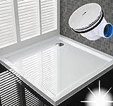90x90 Duschtasse Duschwanne Flach Wanne H 5 cm Für Duschabtrennung
