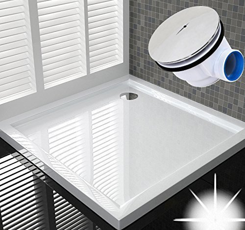 Duschwanne 80x80 cm für Duschabtrennung / Duschkabine