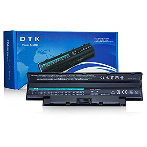 Dtk New Laptop Battery for Dell Inspiron 3420 3520 15r 17r 14r 13r N5110 N5010 N4110 N4010 N7110 N3010 M5110 M4110 M501 M503 Series, Fits P/n J1knd 4t7jn [6-cell 4400mah/49wh]