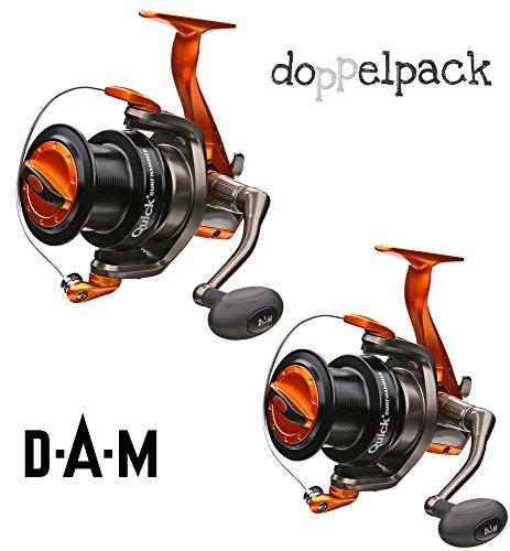 2 pcs. DAM Quick SURFHAMMER 360 FD - Moulinet l'eau salée (paquet double)