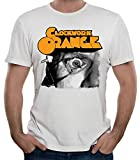 35mm - Camiseta Hombre - Clockwork Orange - La Naranja Mecanica - T-Shirt, Blanca, L