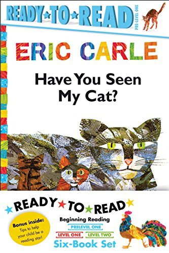 Eric Carle Ready-to-Read Value Pack: Have You Seen My Cat?; Walter the Baker; The Greedy Python; Rooster Is Off to See the World; Pancakes, Pancakes!; A House for Hermit Crab (The World of Eric Carle) by Eric Carle (2016-07-26)