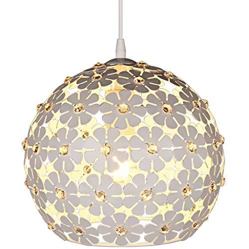 Kreative Kugel-LED Kronleuchter hohle geschnitzte Eisen Deckenpendelleuchte E27 Hängeleuchten Dekorative Beleuchtung Fixture Esszimmer Lichter