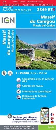 Massif du Canigou por Institut Géographique National