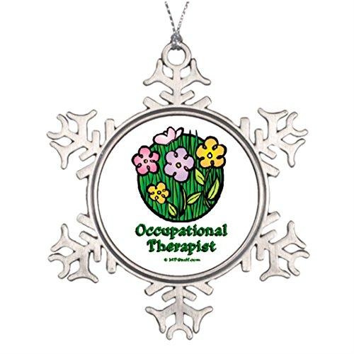 7. Gener personalisierbar Weihnachten Weihnachtsbaumschmuck Littmann Therapie Blooms 2Personalisierte Schneeflocke ornaments Weihnachten - Für Deko-ideen Außerhalb Halloween