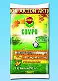 Compo 1096966004 Herbst Rasendünger mit Langzeitwirkung, 5 kg