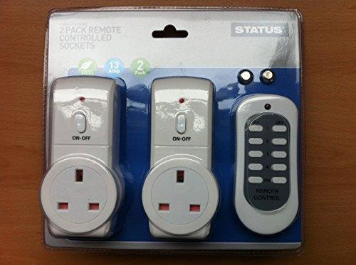 status-sremsoc2pk3-remote-control-socket-white-pack-of-2