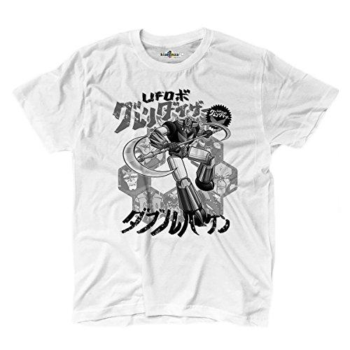 Camiseta hombre robot mecha Chogokin Style años 80