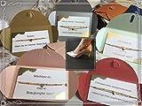Fußkette Herz Gold Trauzeugin Brautjungfer Geschenk fragen Hochzeit Brautschmuck Armband Ondego Gold Silber Rot Mintgrün Blau Rosa