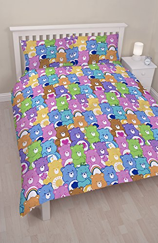 Image of Care Bears 'Hugs' Double Duvet Cover Set - 200cm x 200cm