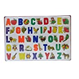 #9: DCS Learing ABCD Toy Tray Alphabets & Pictures in Shapes For Kids