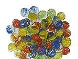 KAYKON Decorative Glass Pebbles (100pcs)...
