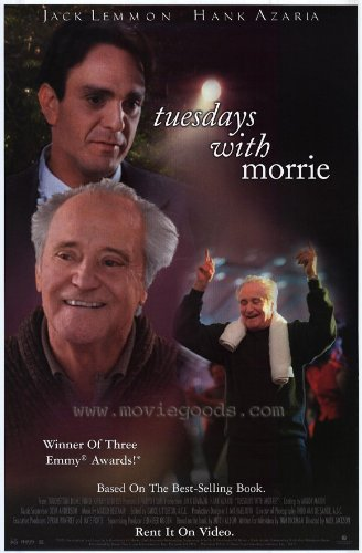 Tuesdays With Morrie Plakat Movie Poster (27 x 40 Inches - 69cm x 102cm) (1999)